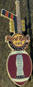 Hard Rock Cafe PITTSBURGH 2019 City Sports GUITAR PIN - LE 300 - HRC #510025