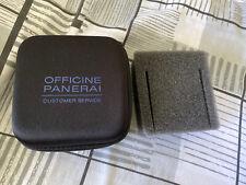 OFFICINE PANERAI CUSTOMER SERVICE WATCH Travel Case/Box Pouch