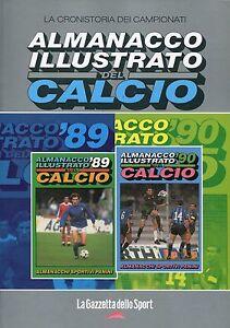 ALMANACCO ILLUSTRATO DEL CALCIO - 1987 - 88 ; 1988 - 89