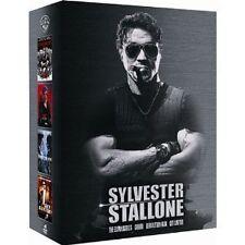 COFFRET STALLONE 4 DVD - COBRA, DEMOLITON MAN , GET CARTER, THE EXPENDABLES