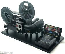 Movie Film Projector, Telecine Video Transfer, Dual 8, Reg.8 and Super 8 Silent