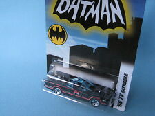 Hot Wheels 1966 TV Series Batmobile Black Body 1/64th Toy USA Blister Pack