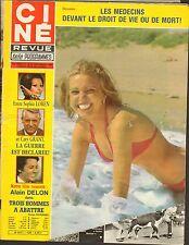 SEPT 18 1980 CINE REVUE vintage television magazine - SWIMSUIT
