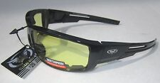 Sly Yellow Motorcycle Riding Biker Quad Glasses Sunglasses Padded Night Riding