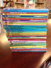 Lot of 36 DISNEY'S WONDERFUL WORLD OF READING children's books ALL HC