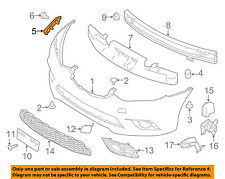 NISSAN OEM 16-18 Sentra Front Bumper-Side Retainer Bracket Right 622243YU1A