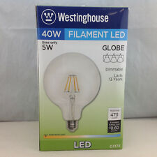 Westinghouse 03174 40W Filament LED Globe Bulb Dimmable