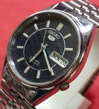 Vintage seiko 5 men's daydate   automatic  japan working wrist watch BG002
