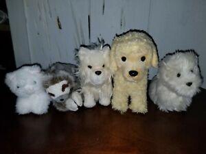 American Girl Doll Pet Dogs Coconut Apricot Pomeranian Sloth Persian Cat t1
