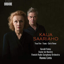 Kaija Saariaho : Kaija Saariaho: True Fire/Trans/Ciel D'hiver CD (2019)
