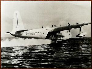 Sandringham S25 Fliegende Boot Flugzeug G-Ahzb Fotografie