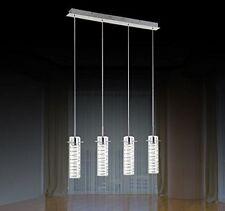 20W LED kristal Hängelampe Höhenverstellbar Kronleuchte Hängeleuchte Deckenlampe