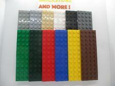 Lego - Plaque Plate 4x12 12x4 3029 - Choose Color & Quantity