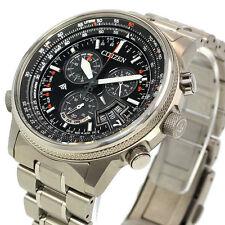 CITIZEN PROMASTER Eco-Drive BY0080-57E Chronograph Men's Watch New in Box