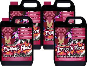 Pro-Kleen Dragons Blood Iron Contamination Remover Alloy Wheel 4 x 5L