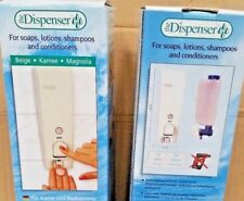 2 x Soap Dispenser 400ml Liquid Hand Wash Bathroom Shower Gel Pump Wall Mounted