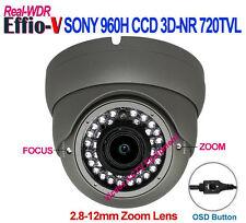 """1/3"""" SONY 960H CCD Effio-V 720TVL WDR 3DNR Night Vision Vandal Proof CCTV CAMERA"""