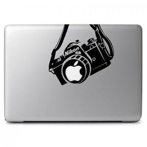 "Nikon Camera Vinyl Decal Sticker for Apple Macbook Air Pro 11 13 15 17"" Laptop"