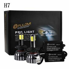 120W 12800lm 4 Sides COB Lamps LED Headlight Kits H7 Low Beam 6000K Bulbs 12V SZ