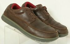 Patagonia T52283 Espresso Brown Leather Casual Lace Up Oxfords Men's US 11