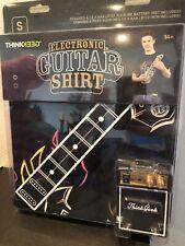 Electronic Guitar Shirt adult Small ThinkGeek Real Playable Guitar Shirt NEW