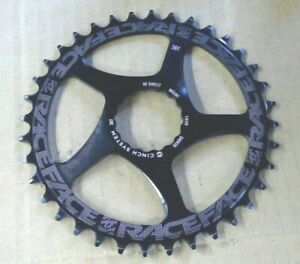 Race Face Chain Ring 1X Narrow Wide 36T Black Direct Mount Cinch