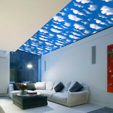 Natural Sky Blue Self-adhesive Wallpaper DIY Wall Sticker Panel Decal Waterproof
