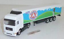 "Schuco Junior Line 22403 Man F2000 Semi-Trailer Truck "" Bärenmarke "" Boxed 1:87"