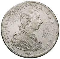 r38_23) FIRENZE Pietro Leopoldo Lorena (1765-1790) Francescone 1786 da montatura