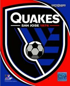 "San Jose Earthquakes MLS Team Logo Composite Photo (Size: 8"" x 10"")"