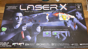 Laser X Double Morph Blasters Laser Guns - Excellent Working Condition Complete