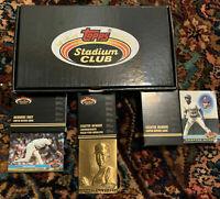 1991 Topps Stadium Club Charter Member Set - Nolan Ryan Bronze, Members Only Box