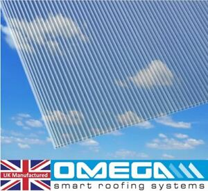 4mm Polycarbonate Sheet, 5 of 2ft x 4ft, 610mm x 1220mm   Greenhouse Replacement