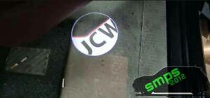 MINI John Cooper Works Door Projector Lights - JCW Gen 2 R58 Coupe NEW LOGO