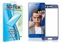 SDTEK Full Screen Glass Protector for Huawei Honor 9 (Blue)