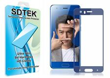 SDTEK Full Screen Glass Protector for Huawei Honor 9 (blue)