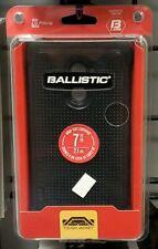 New Ballistic Tough Jacket Black Case For ZTE Imperial Max - Black - #8G