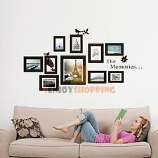 Removable PVC Wall Posters Sticker Photo Frame Memories Bedroom ...