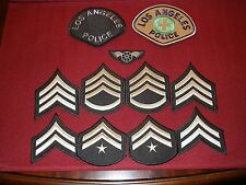 Los Angeles Police Department Patches Lot of 11