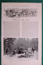 1900 BOER WAR ERA 25TH AUGUST SPORT IN THE NAVY