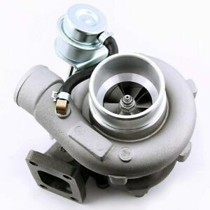 Turbo Turbocharger for Nissan Skyline 2.0L-2.5L RB25/RB20 Bolt On Version 2 tcd