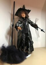 """Rare 2002 Theodor Himie Magic Wizard Witch 26"""" Doll Annette Himstedt Le #205/333"""