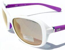 NEW* NIKE POISE White Purple Silver Violet Flash Mirror Lens Sunglass EV0741 144