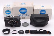 [ALL BOX MINT+++] Minolta CLE Rangefinder Camera + M-Rokkor 40mm f/2 From Japan