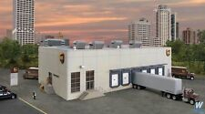 Walthers Cornerstone UPS Hub With Customer Centre Kit 933-4110 HO Scale