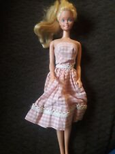 Vintage 1966 Blonde Barbie Mexico