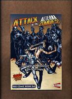 2009 Attack Of The Alterna-Zombies #1 NM Alterna Comics FCBD Edition TPB Jesus