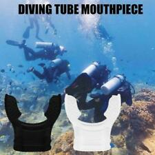 Silicone Diving Equipment Transparent Mouthpiece Snorkel Scuba Tube E4F0