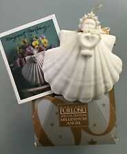 2000 Signed Margaret Furlong Special Edition Millennium Angel Ornament Nib Usa