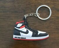"Jordan 1 Retro High ""Not For Resale"" Varsity Red Shoe/Sneaker Keychain"
